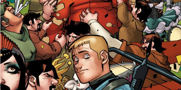 """This summer, meet the strangest show on earth when """"NEXT STOP CLOWNTOWN"""" rains carnies, cotton candy, and chaos down on Valiant's history-smashing adventurers! As revealed at ComicsAlliance, Valiant is proud […]"""
