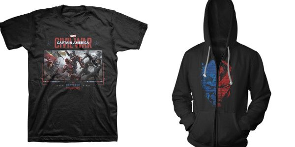 """Limited edition """"live-event"""" Marvel's Captain America: Civil War products will only be available in Pop-Up Movie Theater Locations across the US, including a collectable Commemorative Ticket and """"Tour T-Shirt"""" Whose […]"""