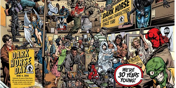 Dark Horse Day Goes International on June 4! 2016 marks the thirtieth anniversary of Dark Horse Comics, and it's time to party! Earlier this year, Dark Horse announced that Saturday, […]