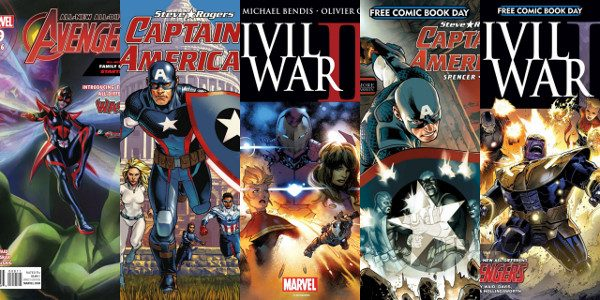 """""""It was a big weekend for the Marvel Universe…Marvel used FCBD to set the stage for several key storylines."""" – IGN Free Comic Book Day is the perfect way to […]"""