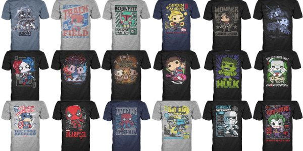 Pop! Tees: Wave 2 The latest styles from Pop! Tees showcases fanfavorites from Star Wars, Marvel, DC, and more! They all come with a Pop! Mini Standee Collector Card,making them […]