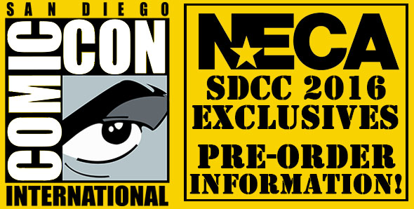 SDCC Exclusives – What, Where, When This summer we have six awesome San Diego Comic-Con exclusives, as well as a new online system that lets you pre-order online (for show […]