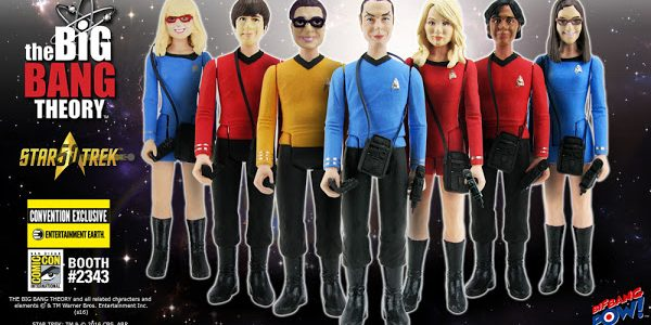 THE BIG BANG THEORY™ Crew Boldly Goes to Comic-Con as Action Figures! THE BIG BANG THEORY™ meets Star Trek: The Original Series in this limited edition group of Entertainment Earth […]