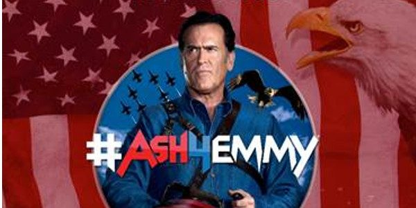 """HE DOESN'T SUCK"" AMONG CAMPAIGN PROMISES The Second Season of ""Ash vs Evil Dead"" Returns this Fall  STARZ released new EMMY® campaign videos today for its Original series ""Ash vs […]"