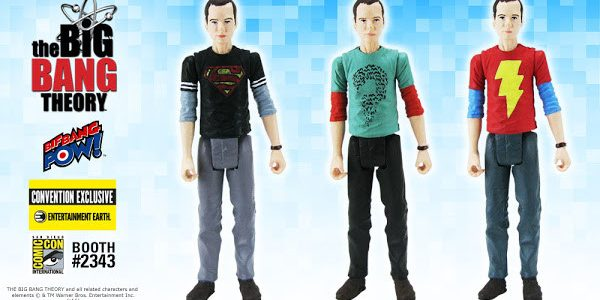 Fans of THE BIG BANG THEORY™, get ready for some theoretical physics fun with three brand-new, unique 3 3/4-inch scale action figures of Sheldon Cooper – all 2016 Entertainment Earth […]