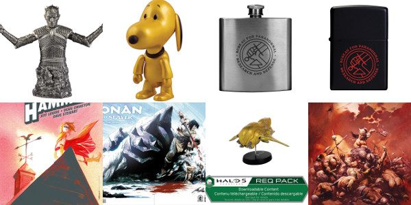 GAME OF THRONES, HELLBOY IN HELL, AND MORE EXCLUSIVES AVAILABLE AT BOOTH #2615 Dark Horse is proud to announce its selection of exclusive merchandise for San Diego Comic-Con International 2016! […]