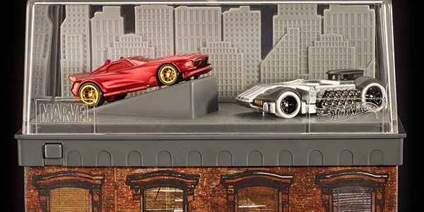 Another reveal, and the action's heating up on the streets of the Big Apple… Hot Wheels® Marvel Daredevil Character Car VS Punisher Character Car – $30 Hell's Kitchen. It's New […]