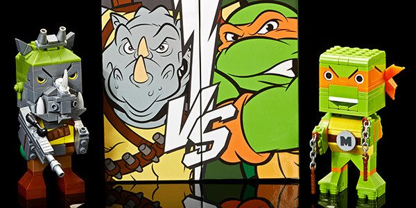 Go Ninja go … and check out another reveal from TMNT! Kubros TMNT Michelangelo™vs. Rocksteady™Special Edition Set – $25 SDCC, classic TMNT, and one of the first ever special edition […]