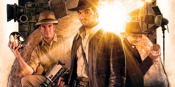 Check out this very impressive shot-for-shot match of the original trailer for RAIDERS OF THE LOST ARK (celebrating its 35th Anniversary next week!) and the RAIDERS Adaptation created by Chris […]
