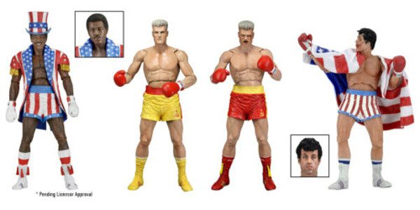 Celebrate 40 years of the phenomenally successful Rocky saga as well as the recent Creed movie with NECA! We're relaunching our Rocky action figure line, with a mix of all-new […]
