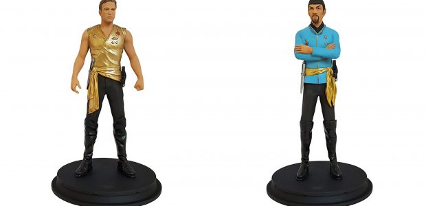 """Hello, here is Icon Heroes 2nd wave of SDCC exclusives featuring iconic Star Trek characters! Star Trek Mirror Kirk Statue Paperweight ($50) The """"bad boy"""" of the Federation, Captain James […]"""