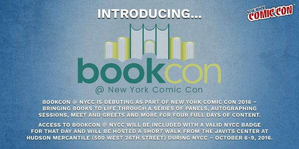 BookCon @ NYCC to Host R.L. Stine, Danielle Paige, Ann. M. Martin and Others October 6-9 as New York Comic Con Expands Programming Options and Footprint in New York City […]