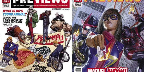 Gerard Way Kicks Off DC Entertainment's New Young Animal Imprint with Doom Patrol The July edition of Diamond Comic Distributors' monthly PREVIEWS catalog arrives in comic shops, hobby stores, and […]