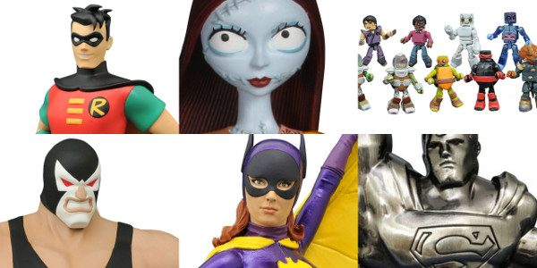 This week, comic shops got in received a massive influx of superheroes, as Diamond Select Toys shipped a variety of super new products! New resin busts from the Batman Classic […]