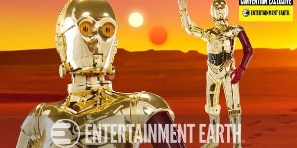 Convention Exclusive C-3PO Figure Is at Your Service with Red Arm The Rebel Alliance and Resistance's most loyal protocol droid has a new look – and you may not recognize […]