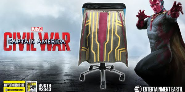 Vision Chair Cape™ Flies into San Diego Comic-Con 2016 as a Convention Exclusive! Your chair will never be the same! The Vision Chair Cape – Convention Exclusive is flying to […]