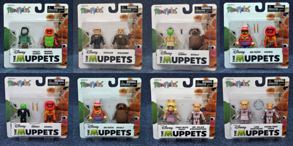 The Muppets Minimates Series 2 Mahna Mahna
