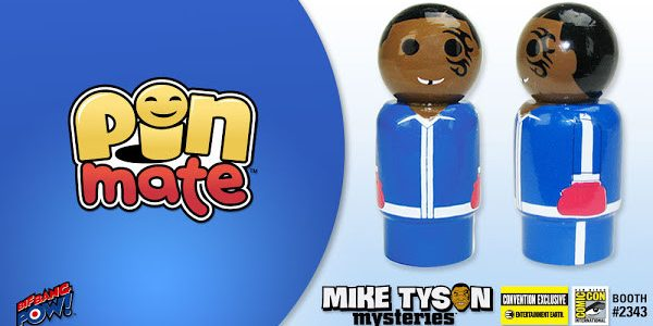 Bif Bang Pow! proves some of the best things do come in small packages with their Mike Tyson Mysteries Mike Tyson Pin Mate Wooden Figure – Convention Exclusive – only […]