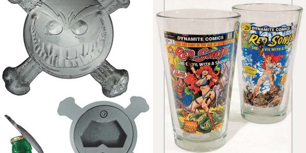 Your Favorite Beverages Just Got Even Tastier with Drinking BuddiesSmiley the Psychotic Button and Red Sonja! Dynamite Entertainment is proud to announce two new ways to make the world taste […]