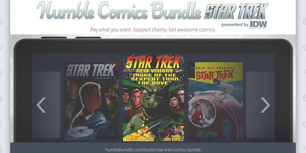 Celebrating Star Trek's 50th Anniversary with over $440 of digital comics and an exclusive hardcover book in support of charity In celebration of the 50th Anniversary of Star Trek, Humble […]