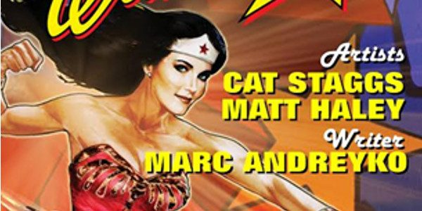 MARC ANDREYKO, CAT STAGGS AND MATT HALEY TO SIGN COPIES OFWONDER WOMAN '77 VOL. 1 ON JUNE 11 AT GOLDEN APPLE COMICS The New Collected Edition is Based on the […]