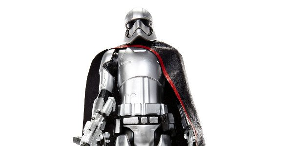 """Clad in distinctive metallic armor, Captain Phasma commands the First Order's legions of Troopers. NEW from Jakks' BIG FIG 20"""" collection comes the Premium Edition Captain Phasma fromStar Wars™:The Force […]"""