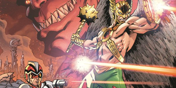 The Heroes of Rann and Thanagar Join Forces to Avert An Interstellar War Writer Marc Andreyko (WONDER WOMAN '77) and interior/cover artist Aaron Lopresti (THE NEW 52: FUTURE'S END, METAMORPHO/LEGENDS […]