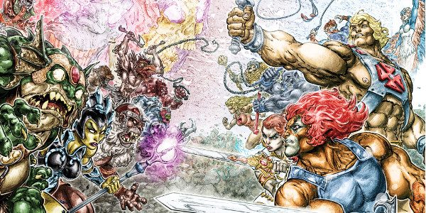 The Power of Grayskull and The Sword of Omens Collide this October It's the epic crossover event 30 years in the making! He-Man and the Masters of the Universe team […]