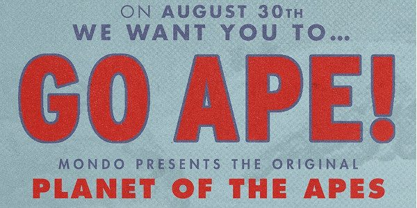 Nationwide, one-night only screenings on August 30th to celebrate the release of Mondo's new PLANET OF THE APES deluxe soundtrack double LP. Exclusive T-shirt included with every ticket, plus other […]