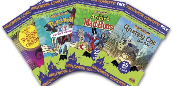 Trick-or-Treat with Mini-Comics This Halloween Halloween ComicFest mini-comic packs are available to preorder from comic book shops, available in stores on September 28th Be the coolest house on the block […]