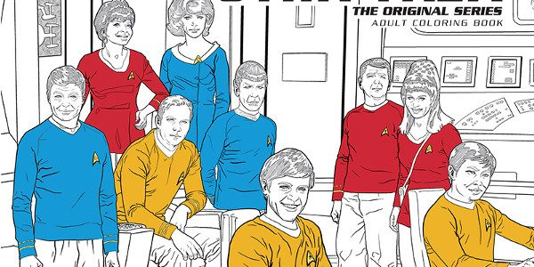 """The Official """"Star Trek"""" Adult Coloring Books Will Debut in October Dark Horse proudly announces the latest title in its adult coloring book program, beginning this fall: Star Trek! The […]"""