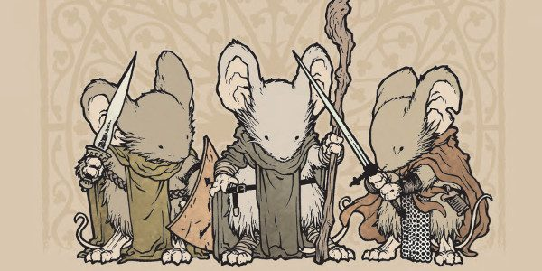 Our ninth announcement in the #RoadToSanDiego is that amovie based on David Petersen's long-running Archaia fantasy series, Mouse Guard,is in the works! The film will be written by Gary Whitta, […]