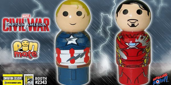 Whose Team Are You On? New Captain America vs. Iron Man Pin Mate Set! Two different philosophies from two very different Super Heroes. Who will you follow into battle? Well, […]