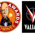 A Total of 50 Nominations for Series Including BLOODSHOT REBORN, DIVINITY, NINJAK, THE VALIANT, and Many More!