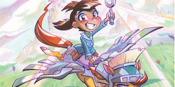 Our sixth announcement in the #RoadToSanDiego reveals an original, all-ages series coming from our KaBOOM! imprint in November! Mega Princess by writerKelly Thompson (Mighty Morphin Power Rangers: Pink,Jem and the […]