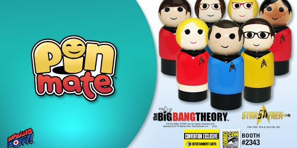 THE BIG BANG THEORY™ Beams into San Diego Comic-Con as Wooden Pin Mate™ Figures Beaming into San Diego Comic-Con 2016 for the first time ever, The Big Bang Theory / […]