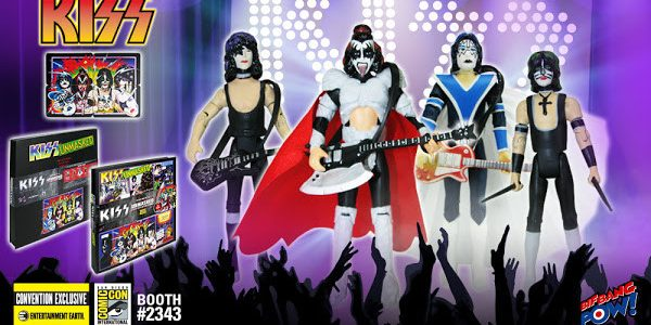 Deluxe Unmasked KISS Action Figure Set Will Rock San Diego Comic-Con 2016 Bif Bang Pow! lifts the curtain and unveils its all-new KISS Series 2 action figure deluxe boxed set […]