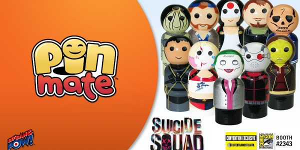 The SUICIDE SQUAD™ Becomes an Exclusive Pin Mate™ Set at San Diego Comic-Con Featuring one of the most anticipated movies of the summer, the Suicide Squad Pin Mate Wooden Figure […]
