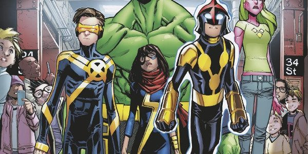 The Marvel Universe is fractured. Heroes who once stood together now position themselves in against one another. The next generation of heroes are fed up! It's time for a change. […]
