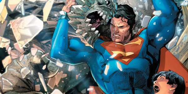 Jurgens' Path of Doom Arc continues in this 5th chapter of this huge destructive battle between OG (pre-Flashpoint) Superman with the help of Wonder Woman continue facing off against Doomsday. […]