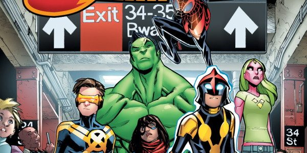 The Marvel Universe is fractured. Heroes, who once stood together, now position themselves in opposition to one another. The next generation of heroes are fed up! It's time for a […]