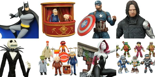 It's a new week of new releases at your local comic shop, and Diamond Select Toys has delivered some of our most highly anticipated products of the year! Not only […]