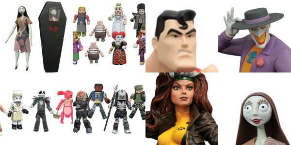 It's New Toy Day at comic shops and specialty stores across North America, and Diamond Select Toys is delivering a ton of toy goodness! In addition to three new assortments […]