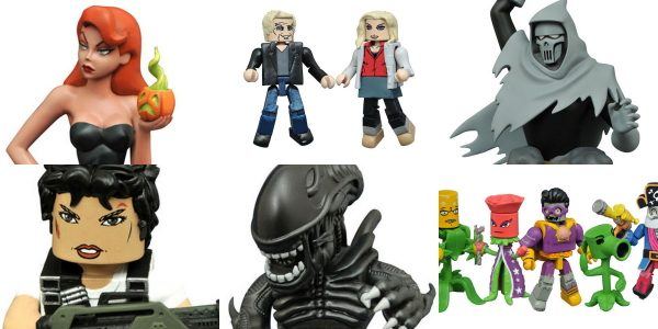 It's an exciting New Toy Day at comic shops across North America, as a new delivery of products from Diamond select Toys hits shelves! The first two Vinimates vinyl figures […]