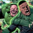 The issue starts off with the Sentient Green Lantern Planet Mogo residing in some uncharted part of space.
