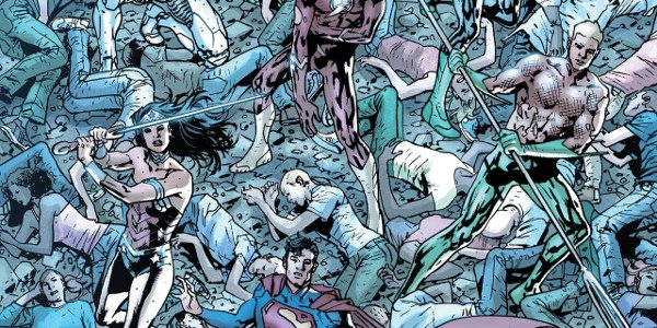 """""""Single drops of water can erode mountains, my friend. One Man can defeat the wills of many."""" The on going saga of Bryan Hitch's JLA Rao epic continues.The story begins […]"""