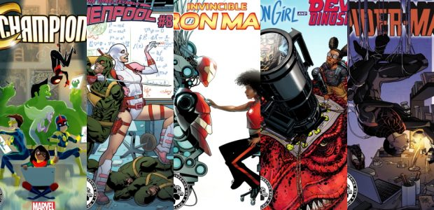 November Variant Campaign to Promote Science, Technology, Engineering, Art, and Math Marvel's best and brightest heroes are stepping to the head of the class for a series of special variant […]