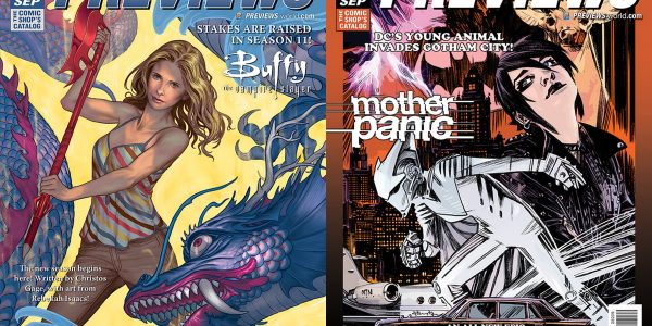 Buffy Faces New Monsters in Dark Horse Comics' Buffy the Vampire Slayer Season 11 The September edition of Diamond Comic Distributors' monthly PREVIEWS catalog arrives in comic shops on August […]