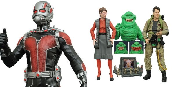 It's a big week for comic shops, with two big releases from Diamond Select Toys hitting stores today! First up, the third series of Ghostbusters Select action figures arrives, with […]