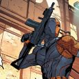 Issue #4 begins with a disguised Slade and Rose heading to Gotham to find out who took out the hit on Rose.